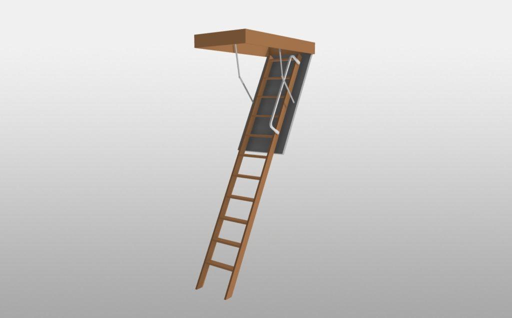 3Dマイホームデザイナーで作成したスライドタラップ2400