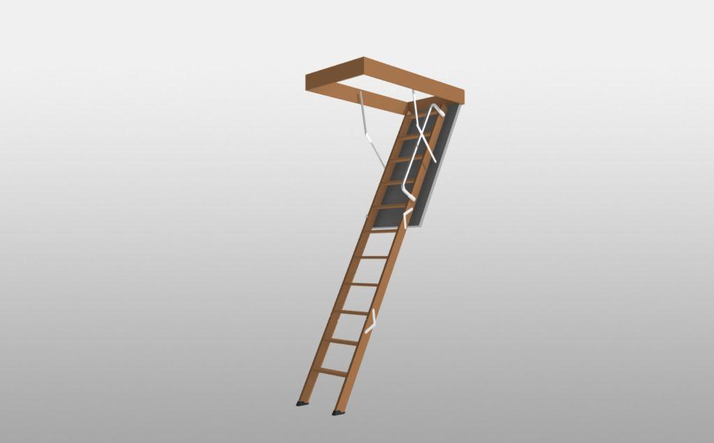 3Dマイホームデザイナーで作成したスライドタラップ2400-2