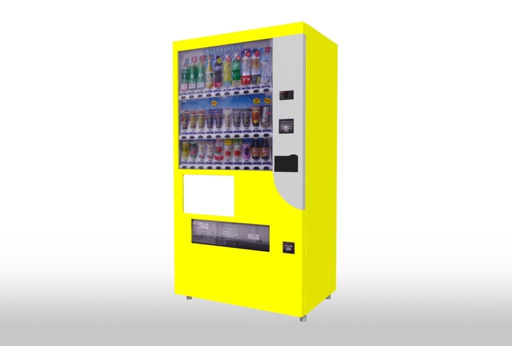 3Dマイホームデザイナーで作成した自動販売機