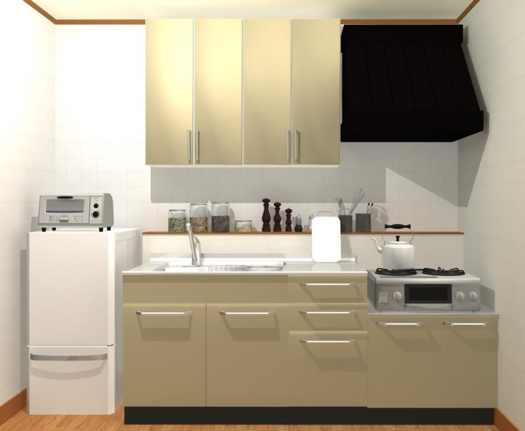 賃貸のキッチン