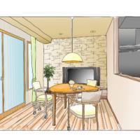 3Dマイホームデザイナーの3DパースをiPadで手描きパースにする