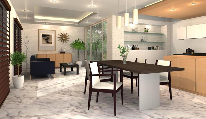 メガソフト、オフィス/パブリックスペース向けブランド・フレイスの家具素材50点を追加公開