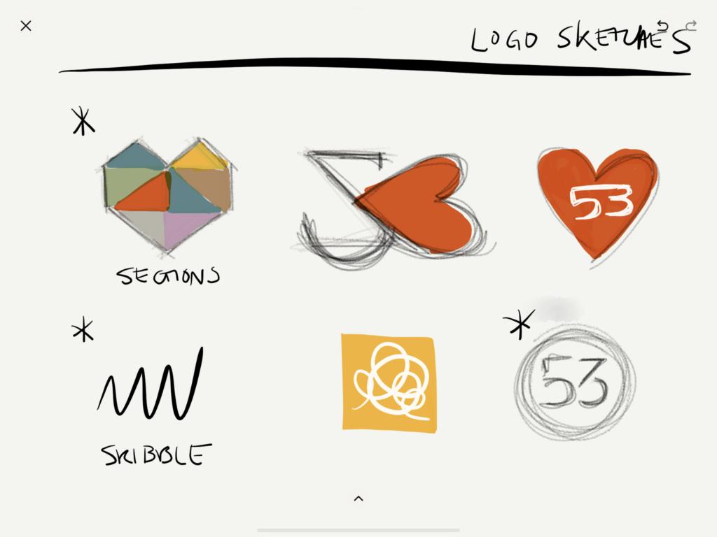Paperの使用事例ロゴデザイン