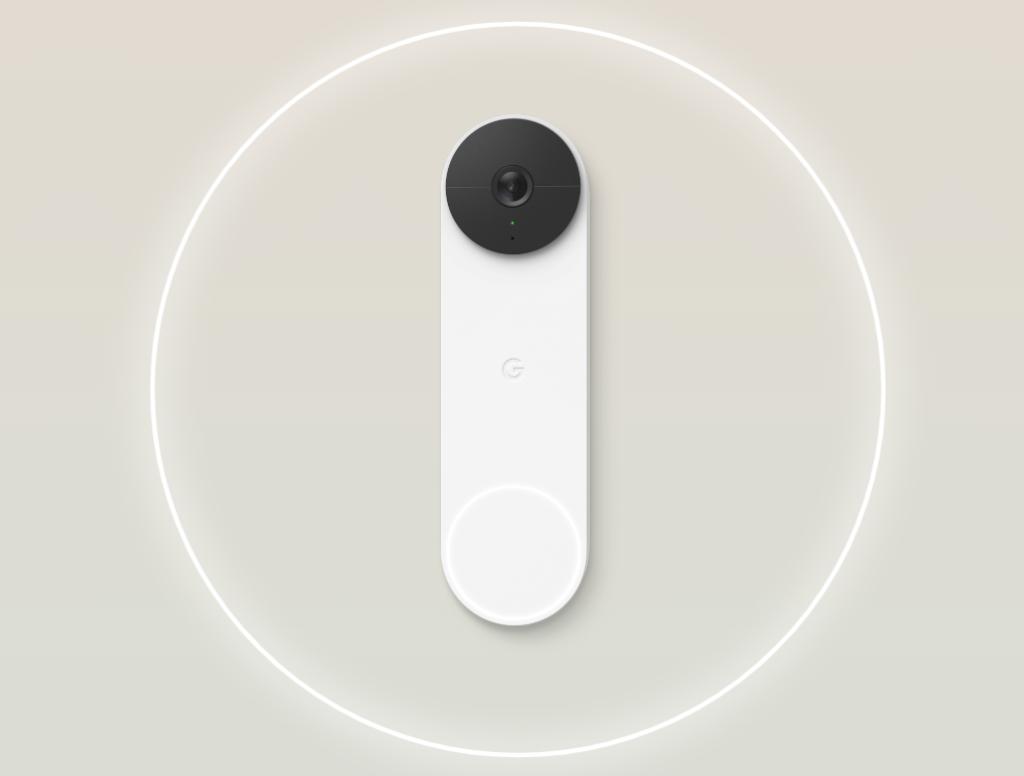 「Google Nest Doorbell」